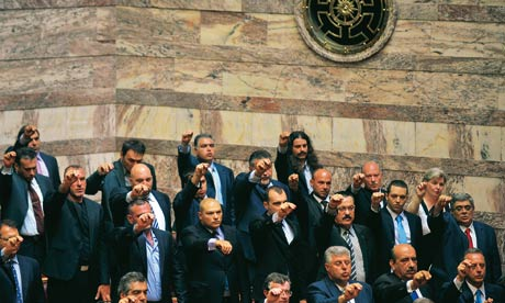 Golden Dawn MPs