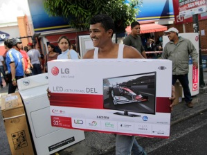 Venezuela Frenzied Shopping