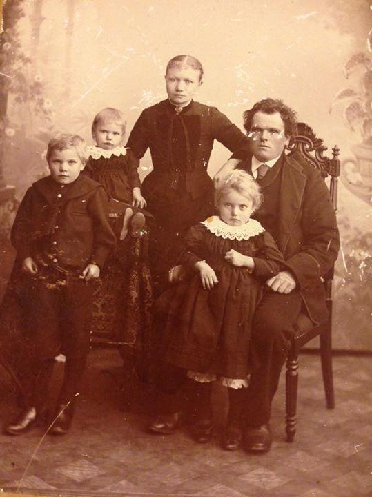 Sven og familie